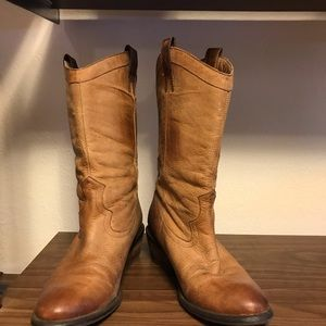 Jessica Simpson Shoes - Distressed cowboy boots